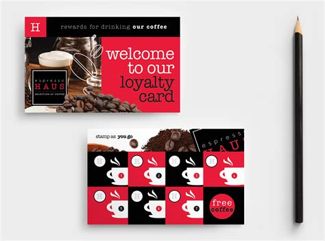 paid punch card templates examples