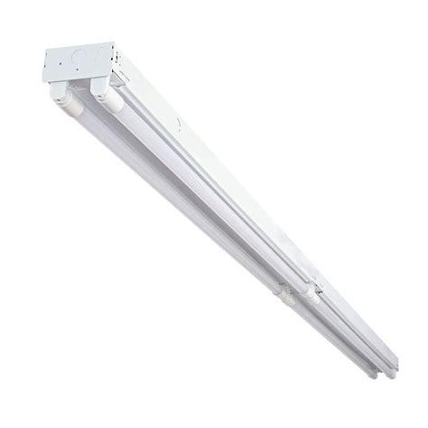 led ls for fluorescent fixtures envirolite 8 ft 4 light t8 industrial led white strip