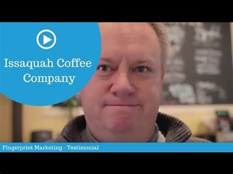 We make delicious mocha's, all of our. Issaquah Coffee Company (short) - Fingerprint Marketing Testimonial - YouTube