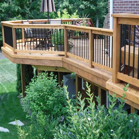 deck designs pictures decks maintenance the family handyman