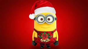Minions Christmas Desktop Wallpapers | 9To5Animations.Com