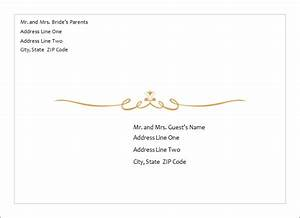 ms word wedding invitation card templates word document With wedding invitation envelope wording samples