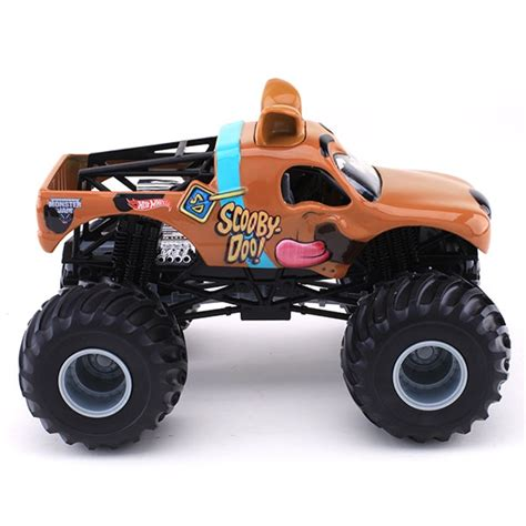 monster jam toys trucks 1 24 wheels scooby doo truck