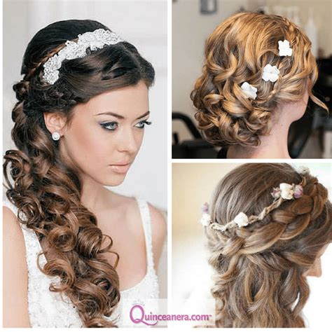 hairstyles  curly hair madison quinceanera