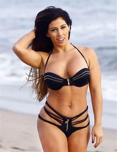 Ortega Carmen Beach Bikini Curvy Zimbio Hits