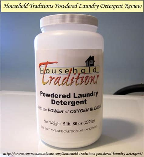 Tropical Traditions Laundry Detergent And by Laundry Detergent Common Sense Home