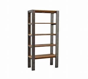 Bücherregal Metall Holz : b cherregal industriedesign regal metall holz industrie breite 100 cm ~ Sanjose-hotels-ca.com Haus und Dekorationen