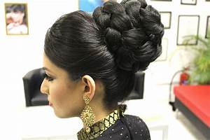TUTORIAL: Indian Bridal Hairstyle YouTube