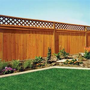 bfd rona products diy fencing planning and installation With superior deco mur exterieur maison 0 decoration jardin treillis
