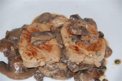 vin blanc sec cuisine filet mignon de porc aux chignons maman ça déborde