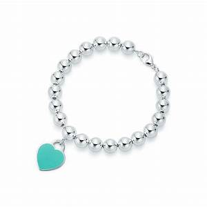Return to Tiffany™ heart tag in sterling silver on a bead ...