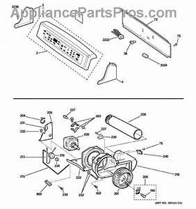 Ge We5m23 Dryer Sensor Harness