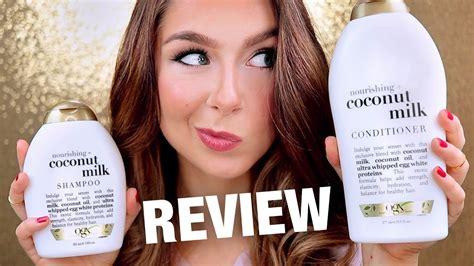Ogx Coconut Milk Shampoo & Conditioner Review