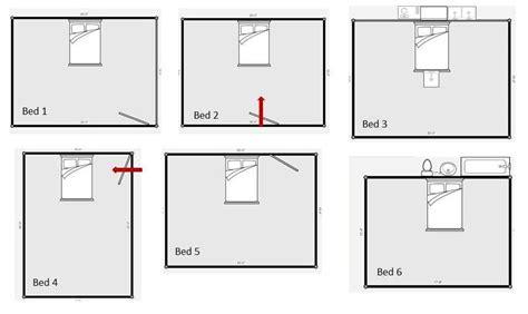 feng shui bedroom layout  windows bedroom oasis bed