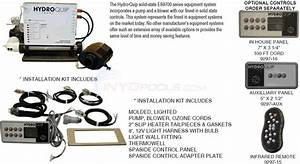 Hydroquip Electronic Spa Packs - Es9700 Series Parts
