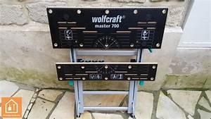 Avis Master Outillage : etabli pliant wolfcraft master 700 test avis bricolage facile ~ Melissatoandfro.com Idées de Décoration