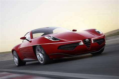 New Alfa Romeo Disco Volante Modern Alfa Romeo Disco Volante Revealed Autoevolution