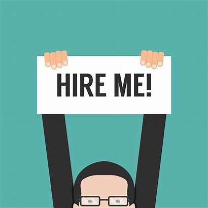 Interview Sales Job Skills Hire Banner Illustration