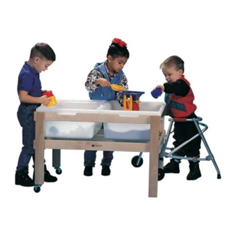 sensory table replacement tub double sand and water table reynolds manufacturing