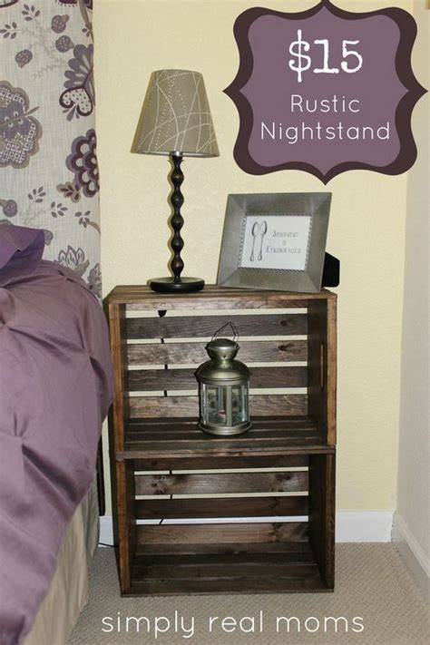 Crate Nightstand Diy by 51 Diy Wood Crate Project Ideas And Tutorials Page 20