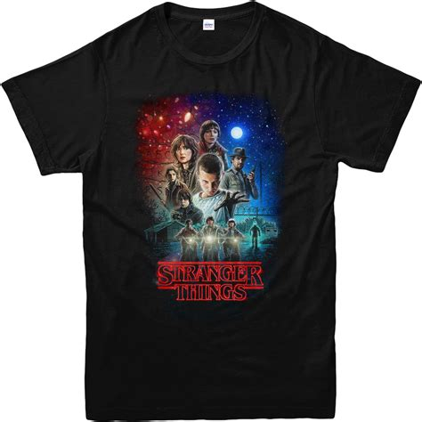 stranger things fan shirt stranger things t shirt characters poster t shirt