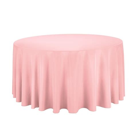light pink table cloth 120 quot light pink blush polyester tablecloth tablecloth