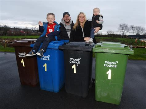 Family delighted by kind-hearted bin crews | Wigan Today