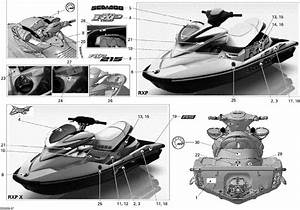 Melbourne Seadoo - Rxp-x 255 And 255 Rs 2009