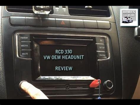 vw rcd 330 rcd 330 vw headunit review india vw rcd polo retrofit