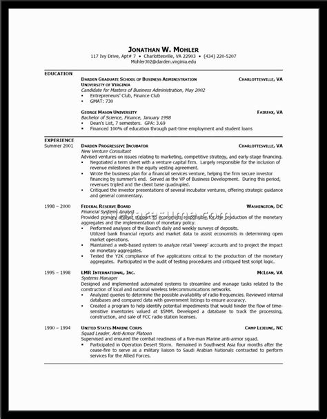 How To Write A Resume Profile by Exles Of Resumes Cv Personal Profile Career Pioneers