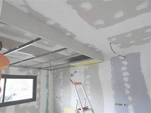 Faux Plafond Placo : calepinage faux plafond placo inspirational plafond ~ Dallasstarsshop.com Idées de Décoration