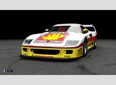 Monte Shell Ferrari F40 Port from Assetto Corsa