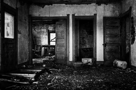 abandoned house interior texture layer scratch