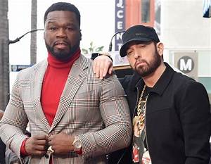 Eminem Makes Rare Public Appearance at 50 Cent's Star ...