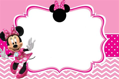 minnie mouse invitation template minnie mouse free printable invitation templates