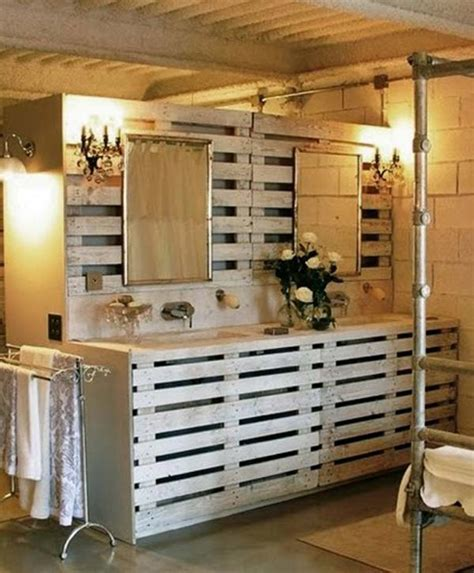 Diy Badezimmer by The Best 24 Diy Pallet Projects For Your Bathroom