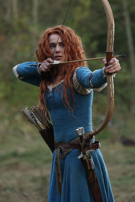 Once Upon a Time Season 5 Photos | Merida costume, Merida ...