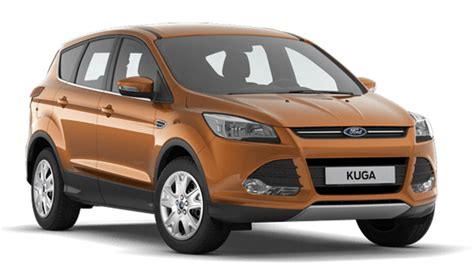 Ford Kuga Colors Couleurs