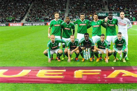 equipe de st etienne photos foot equipe de etienne 27 11 2014 etienne qarabag agdam europa league