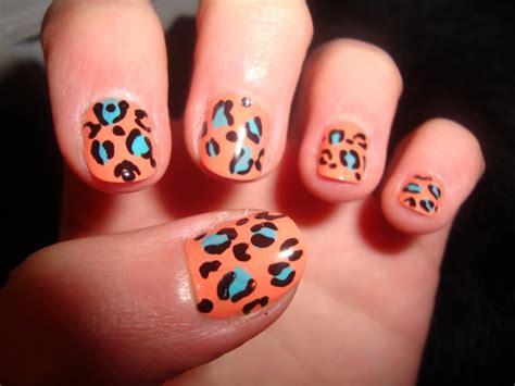 animal nail designs animal print nail