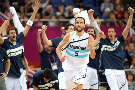 Ginobili Very Excited About Playing In Fourth Olympics