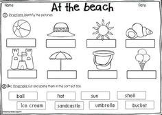 beach themed worksheets images worksheets