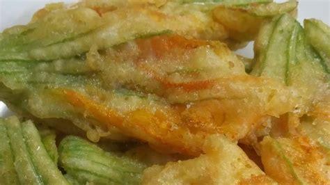 ricette fiori di zucca fritti ricetta fiori di zucca fritti
