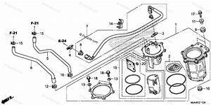 Honda Motorcycle 2012 Oem Parts Diagram For Fuel Pump  1
