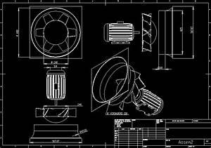 Axial Fan Dwg Block For Autocad  U2022 Designs Cad