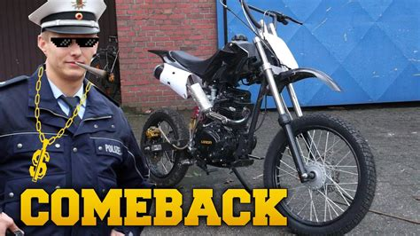 pit bike 150ccm unser pit bike ist wieder da kleines info