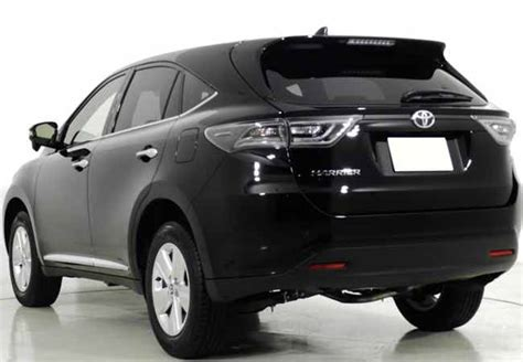 used toyota harrier suv 4wd 2015 in black used cars stock 55361 cso japan