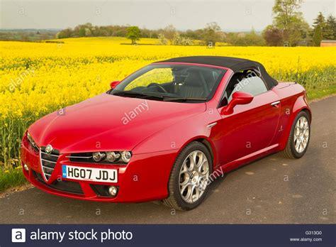 Alfa Romeo Convertible by Alfa Romeo Spider Soft Top Convertible Sports Car In