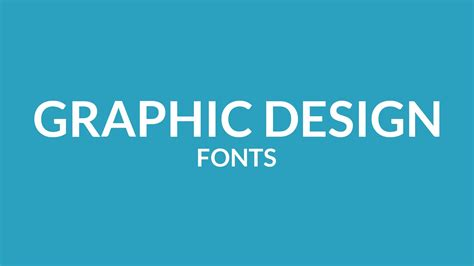 graphic design fonts best free fonts for graphic design free