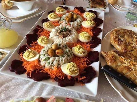 decoration de salade marocaine les 30 meilleures images 224 propos de presentation entr 233 es salades sur œufs tulipe